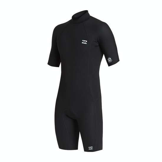 Billabong 2mm Absolute Back Zip Shorty Wetsuit