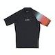 Billabong Contrast Printed Short Sleeve Boys Rash Vest