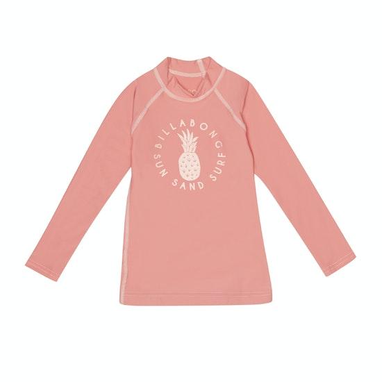 Billabong Logo Long Sleeve Girls Rash Vest