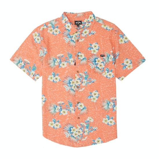 Camisa de manga corta Billabong Sundays Floral