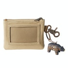Card Holder Homme Pendleton ID Pouch With Bear Keychain