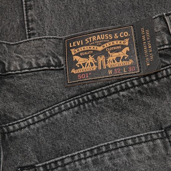 Calças de Ganga Levi's Skate 501