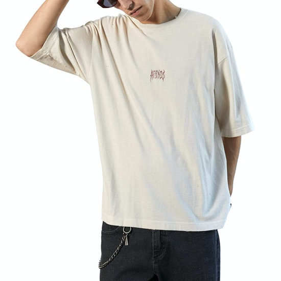 Afends Distressed Oversized Short Sleeve T-Shirt