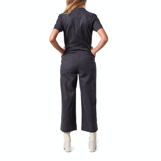 Afends Cora Hemp Boiler Womens Jumpsuit