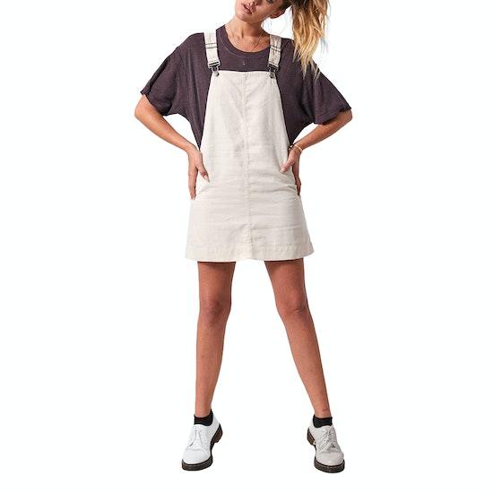 Afends Mae Hemp Overall Dress