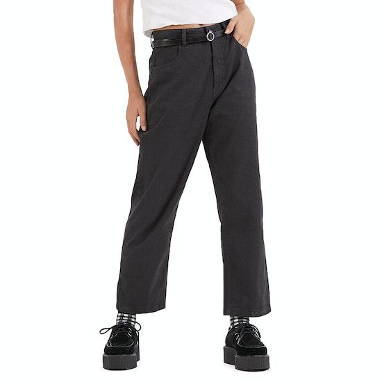 Afends Shelby Hemp High Waist Wide Leg Womens Jeans