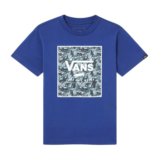 Vans Print Box Boys Short Sleeve T-Shirt