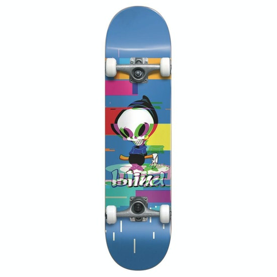 Blind Logo Glitch Complete Kids Skateboard
