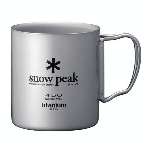 Snow Peak Titanium Double Wall 450 , Mugg