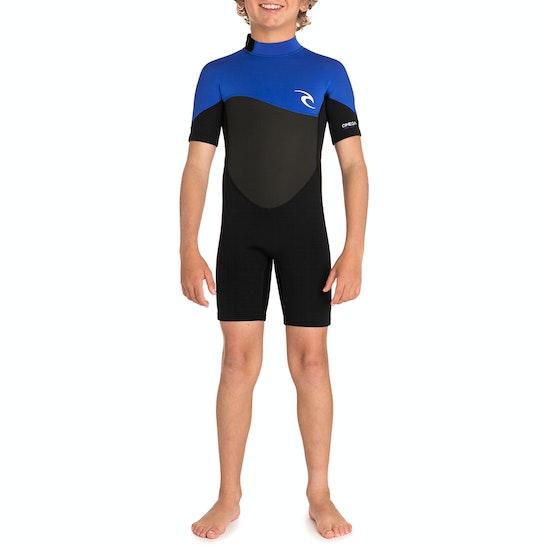Rip Curl Junior Omega 1.5mm Short Sleeve Boys Wetsuit