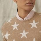 Belstaff Star Crew Neck Women's Sweater
