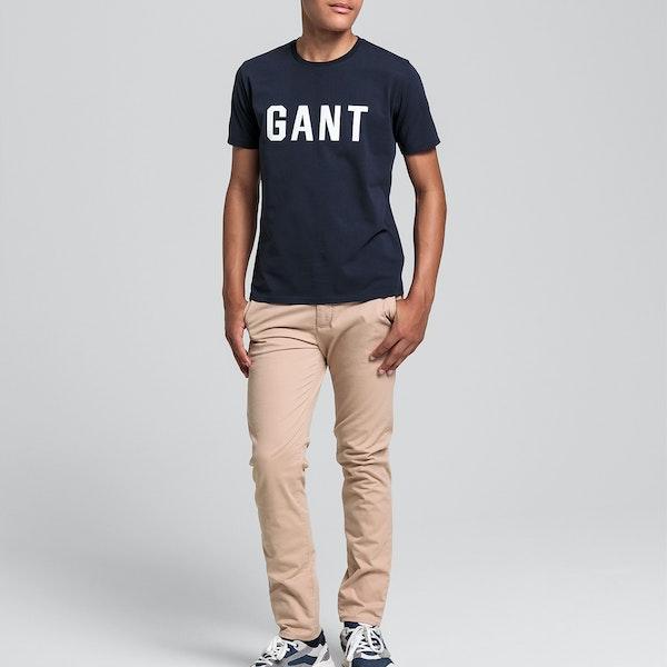 Gant Md. Gant Logo Dziecięce Koszulka z krótkim rękawem