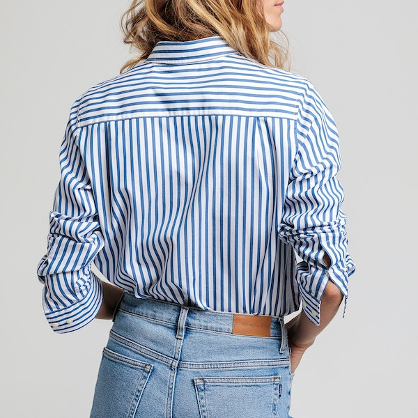 Gant The Broadcloth Striped Women's Shirt