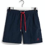 Gant Basic Long Cut Swim Shorts