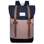Multi Navy Earth Brown Black With Cognac Brown