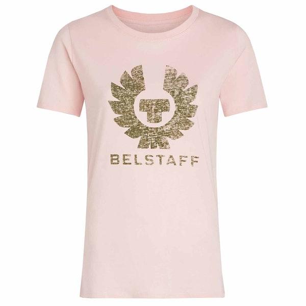 Belstaff Mariola Phoenix Grin-through Short Sleeve T-Shirt