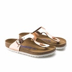 Birkenstock Gizeh Natural Leather Soft Footbed Sandals