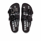 Sandalias Mujer Tommy Jeans Archive Print Flat