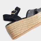 Tommy Jeans Natural Suede Flatform Damski Sandały