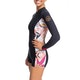 Roxy 1.5mm POP Surf Long Sleeve Front Zip Springsuit Womens Wetsuit