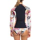 Roxy 1mm POP Surf Front Zip Womens Wetsuit Jacket