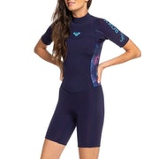 Roxy Syncro 2mm 2 Back Zip Shorty Womens Wetsuit