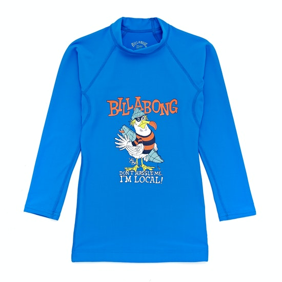 Billabong Kriss Long Sleeve Boys Rash Vest