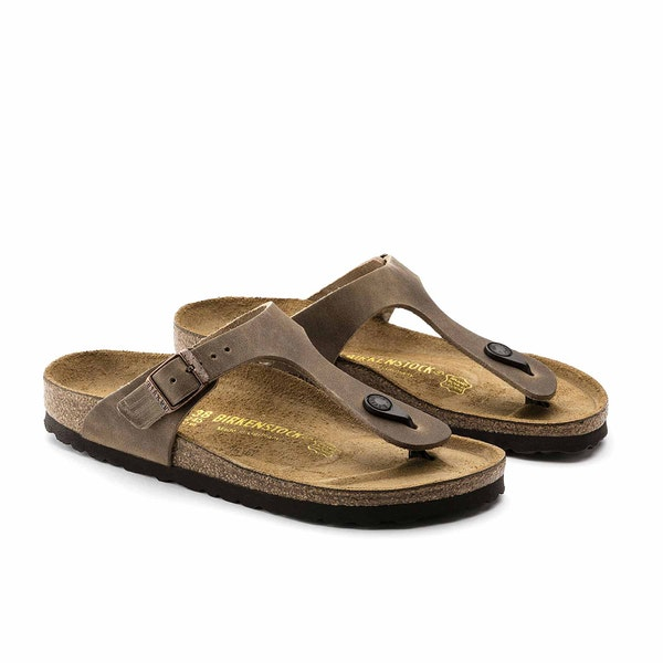 Birkenstock Gizeh Oiled Leather サンダル