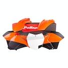 Polisport Plastics KTM EXC/EXC-F 14-16 Front End ReStyle Enduro Plastic Kit