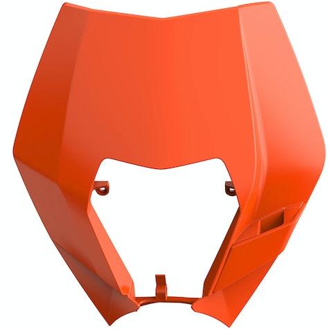Polisport Plastics KTM EXC/EXC-F/XC-W/XCF-W 08-13 Headlight Mask Front Number Plate