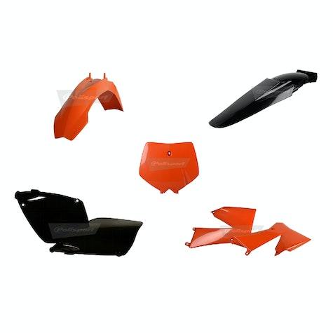 Polisport Plastics Ktm Sx 01-02 Exc 03 Plastic Kit