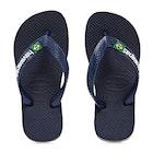 Havaianas Brasil Logo Kid's Flip Flops