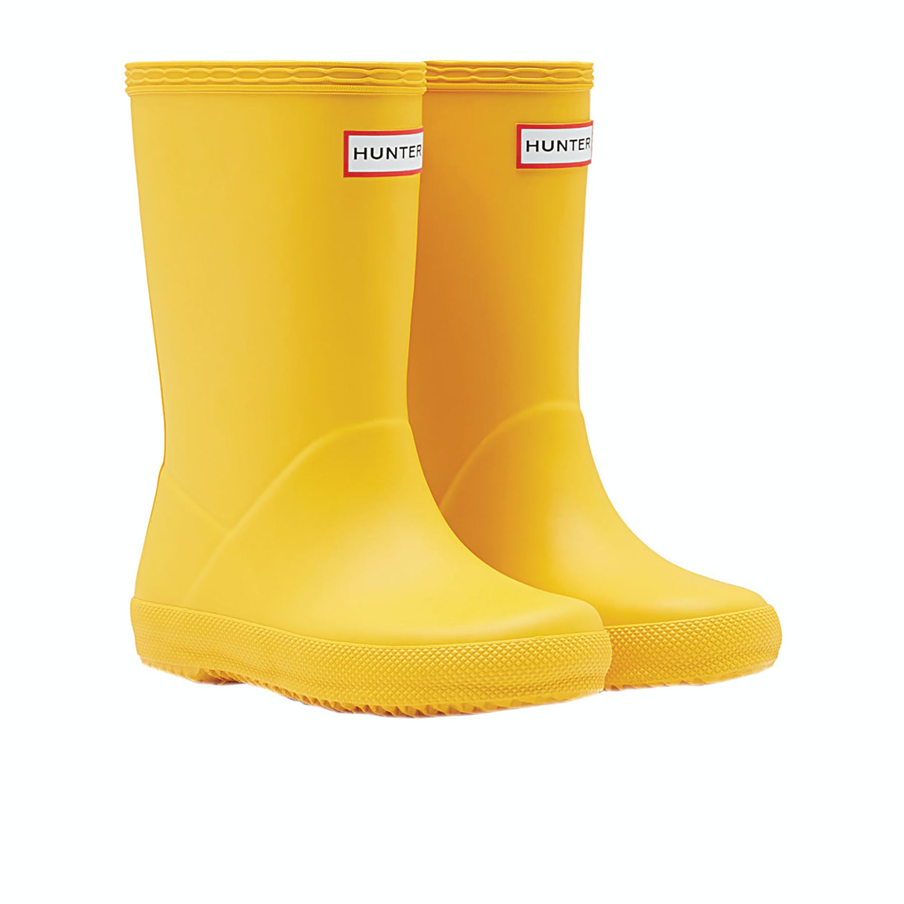 hunter Kid Welly Sock Yellow