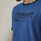 Belstaff Ringer Trialmaster Graphic Short Sleeve T-Shirt