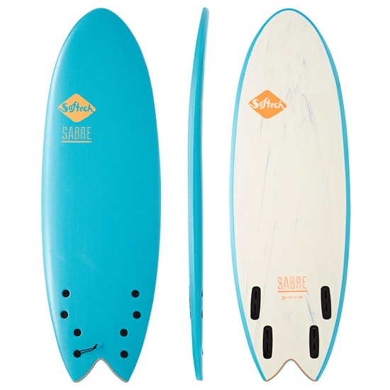 Softech Sabre Quad Fish Surfboard