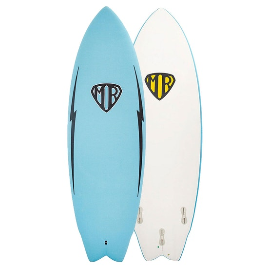 Ocean and Earth Mark Richards Epoxy Soft Twin Fin Surfboard