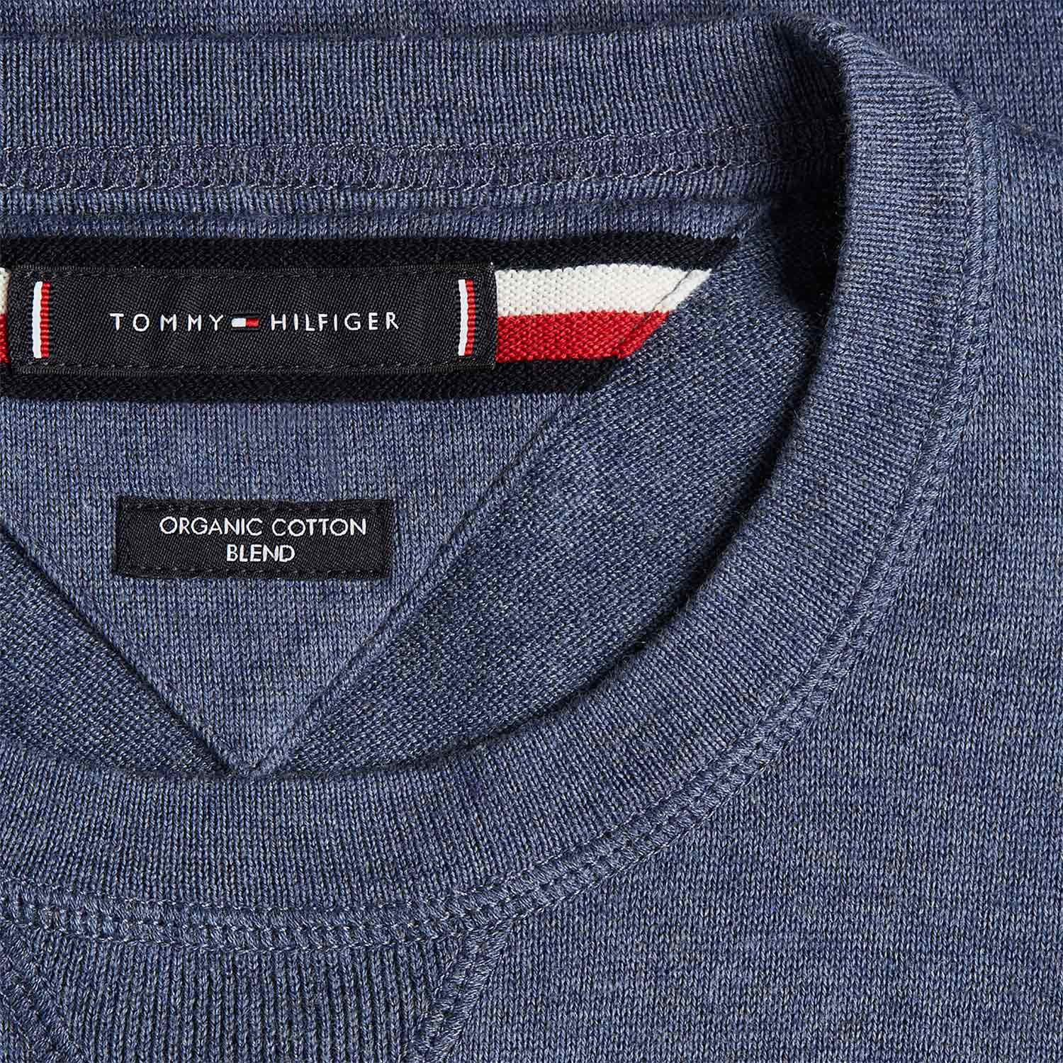 Tommy Hilfiger Organic Cotton Silk Crew Neck