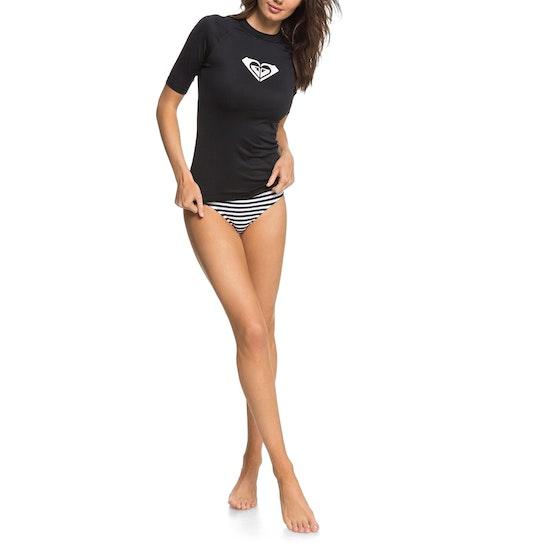 Roxy Whole Hearted Short Sleeve Womens Rash Vest