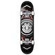 Element Hatched Red Silver Skateboard