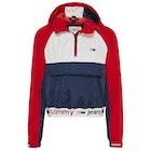 Tommy Jeans Branded Hem Popover Women's Sweater