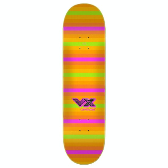 Santa Cruz Afterglow Eyegore Vx Deck Skateboard Deck