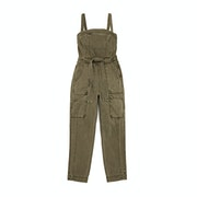 Free People Go West Utility Jumpsuit Jumpsuit