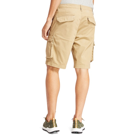 Timberland Tarleton Lake Stretch Twill Relaxed Cargo Shorts