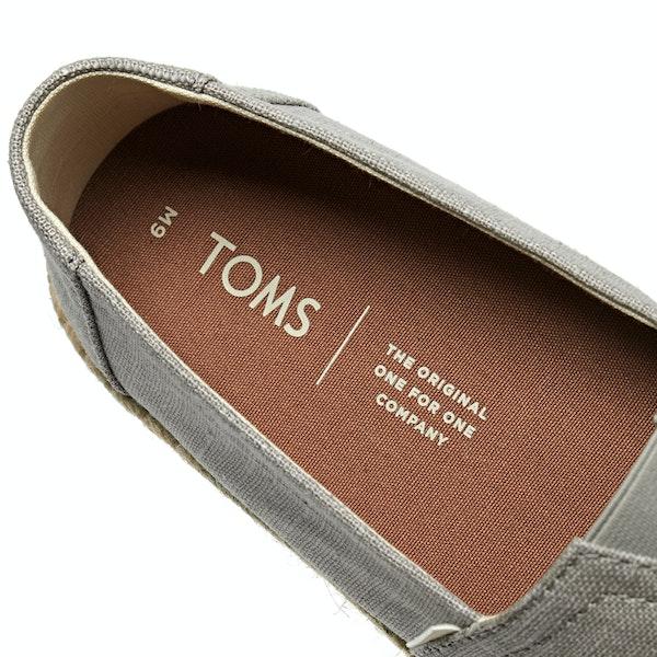 Toms Morn Dove Linen Espadrilles
