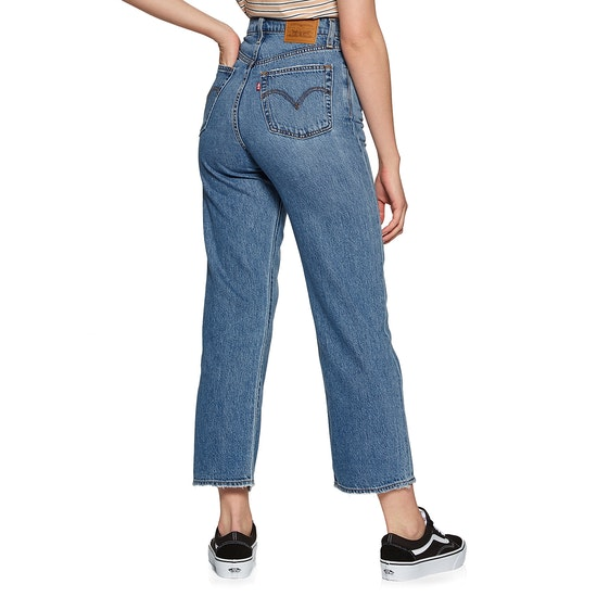 Levi's Ribcage Straight Ankle Womens Jeans