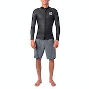 Rip Curl Dawn Patrol 1.5m Long Sleeve Front Zip Wetsuit Jacket