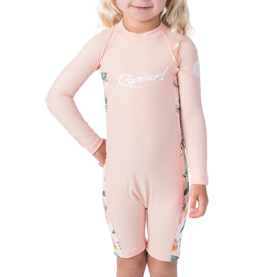 Rip Curl Mini Ls Uv Spring Girls Rash Vest