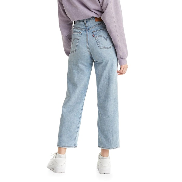 Levi's Ribcage Straight Ankle Womens ジーンズ