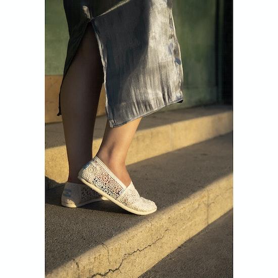 Calzado sin cordones Mujer Toms Crochet Alpargata