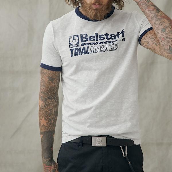 Belstaff Ringer Trialmaster Graphic Kortermet t-skjorte